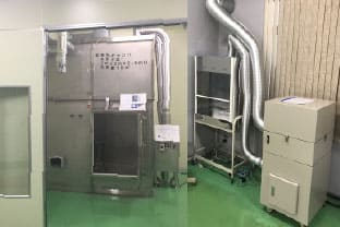 無臭試験室等を用いる脱臭試験