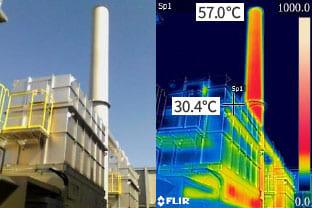 蓄熱燃焼式脱臭装置による排気臭処理