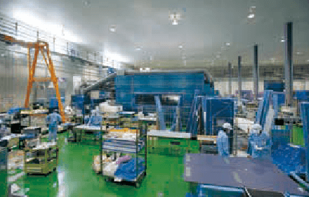 環境制御装置の製造過程