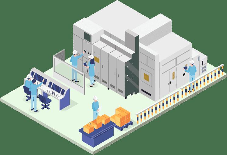 機器製造販売事業