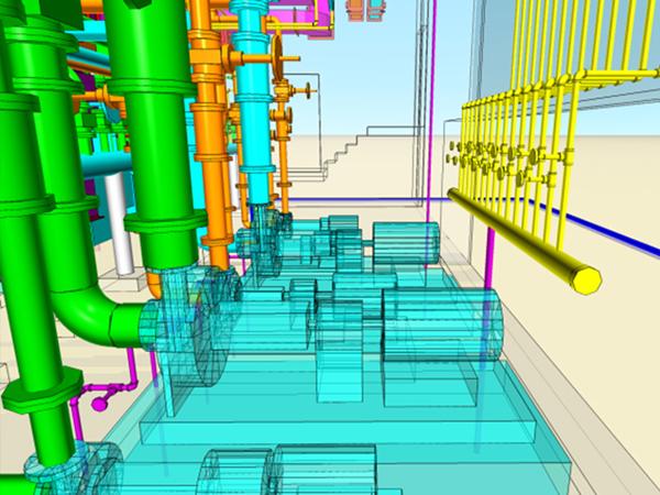 3Dスキャナ計測による施工支援
